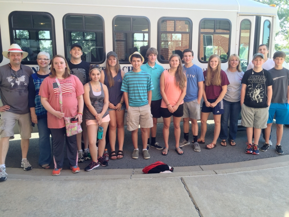 Youth's MFuge Trip with Baring Cross Baptist Church, Summer 2015