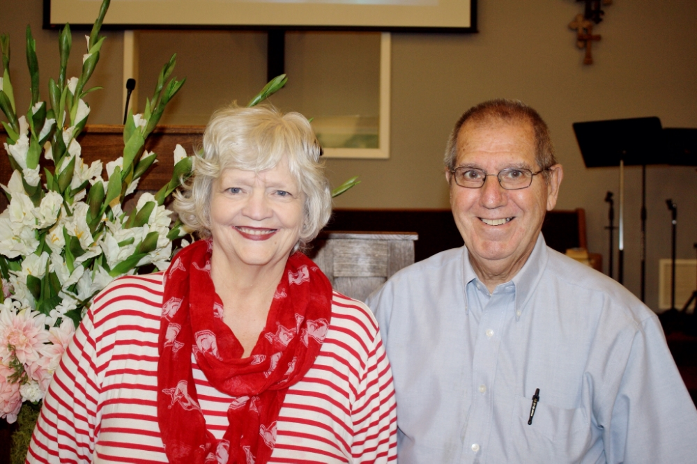 Sunday School teachers, Alyce & Mackey Faulkner