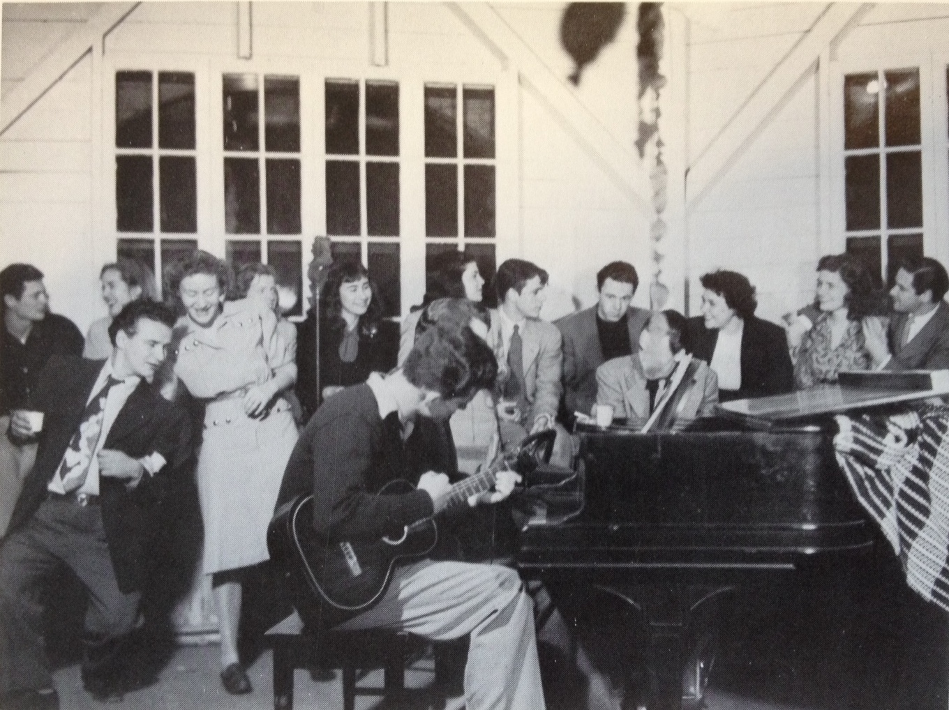 Student party at Black Mountain College. Photograph by Harry Noland