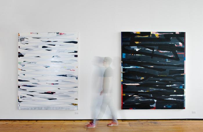 Near/Far, installation view, Sherry Leedy Contemporary Art, 2013 (photo: Misha Kligman)