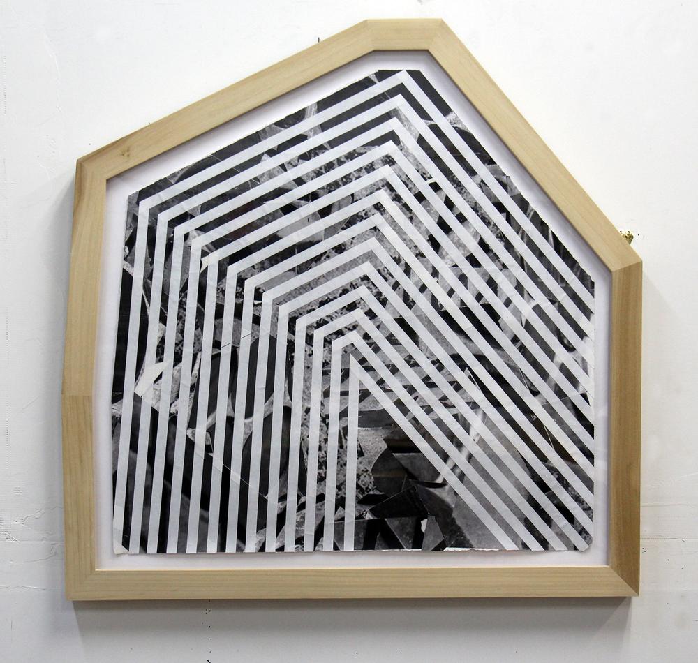 RazedLandcape#1(framed)2014