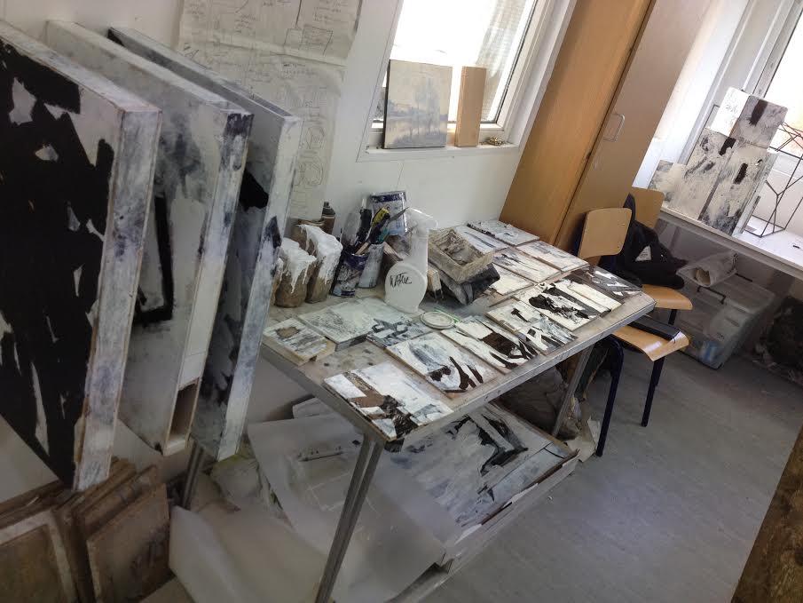 Lopes' studio