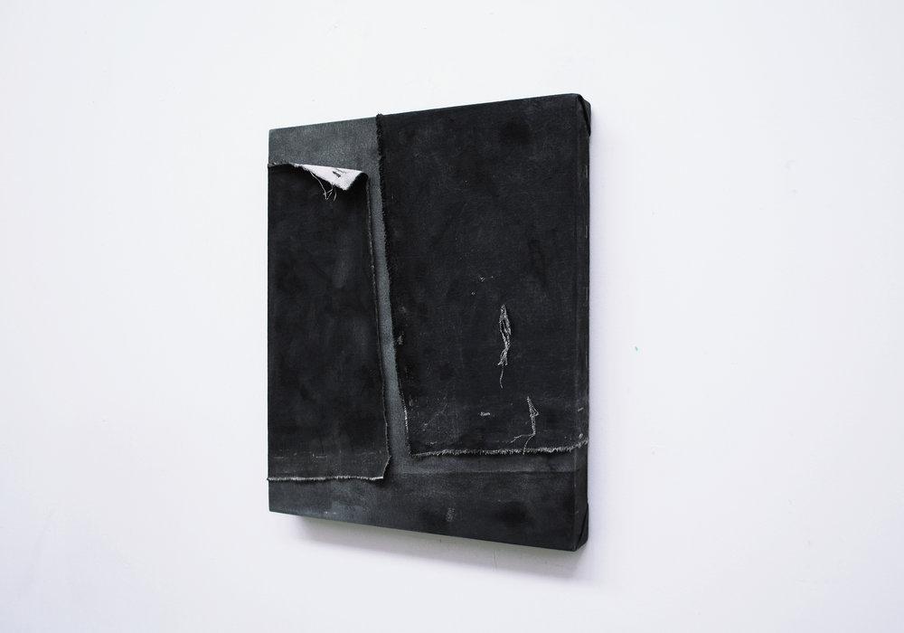 Tess WIlliams- 'Beside Me'- 30x40cm - Oil, Ink & Acrylic on Canvas.jpg