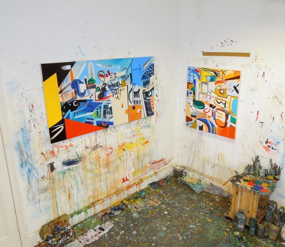 Lisa V Robinson, My Studio 1.jpg