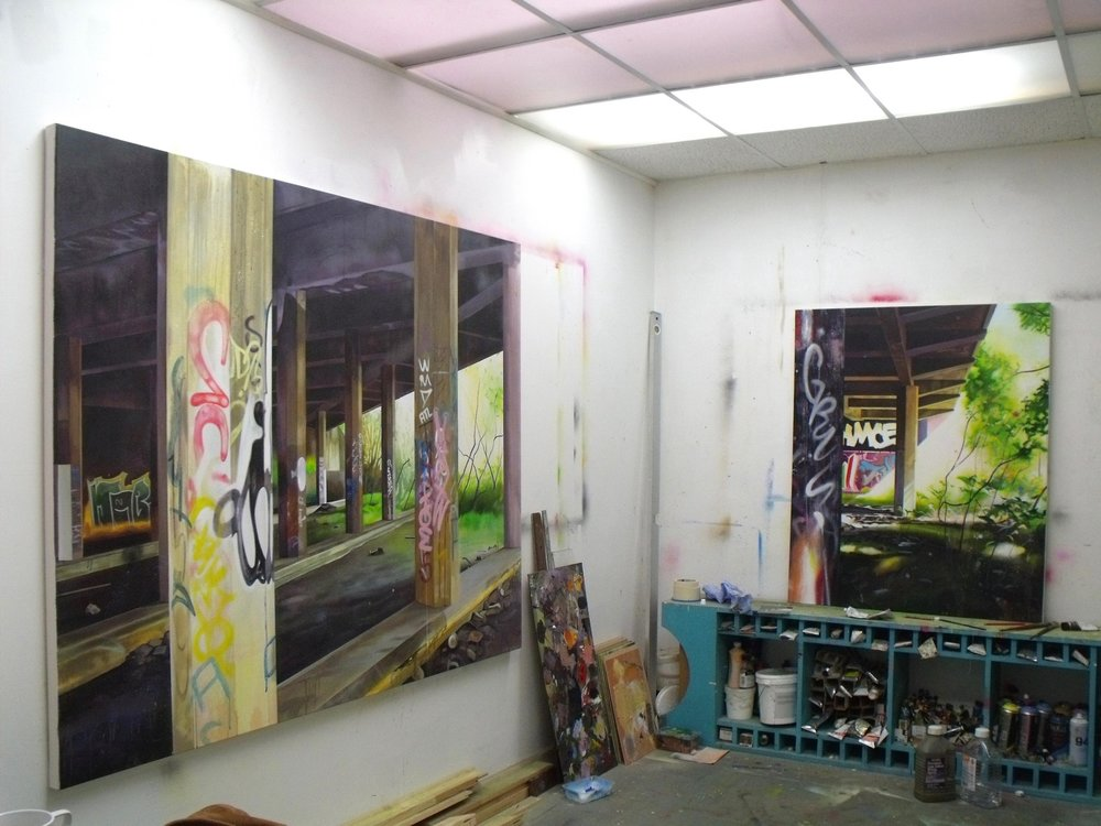 Subterranea and In the half light - Studio photo.jpg
