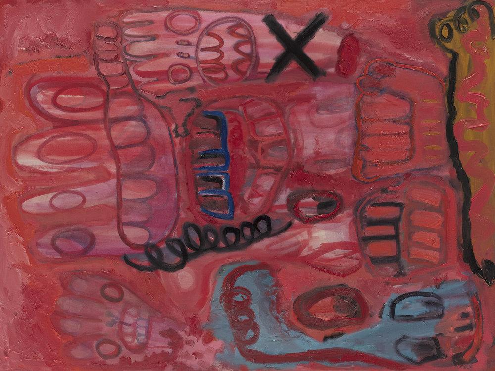 4_4,2017, Pigment, rabbit skin glue and oil on canvas, 122x90 cm.jpg