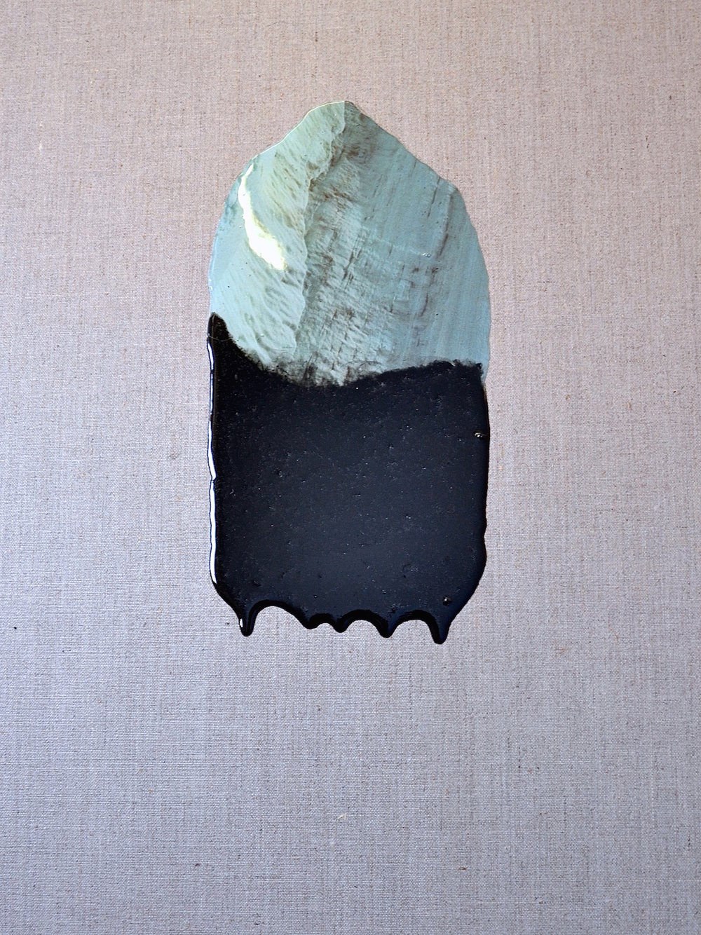 Ultra Plinian, Collage, Resin and Pigment on Linen, 60x45cm, 2016.jpg
