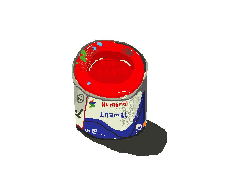 238 Red Gloss Humbrol Enamel Tin.jpg