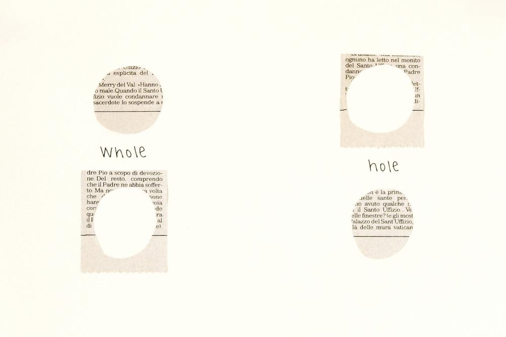 Whole/Hole