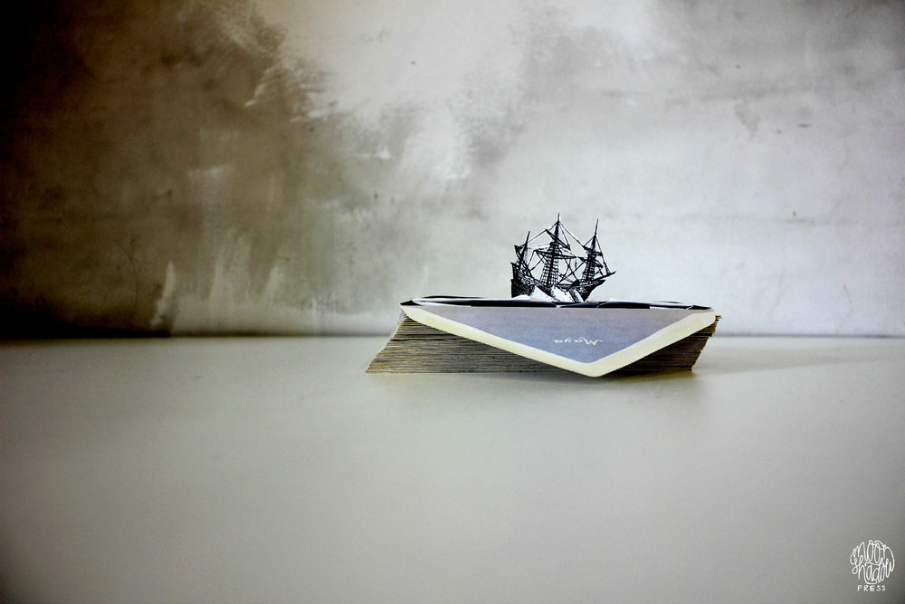 1.  Language is a Nice Bridge but Sometimes You Need a Boat  (2012). Photograph.