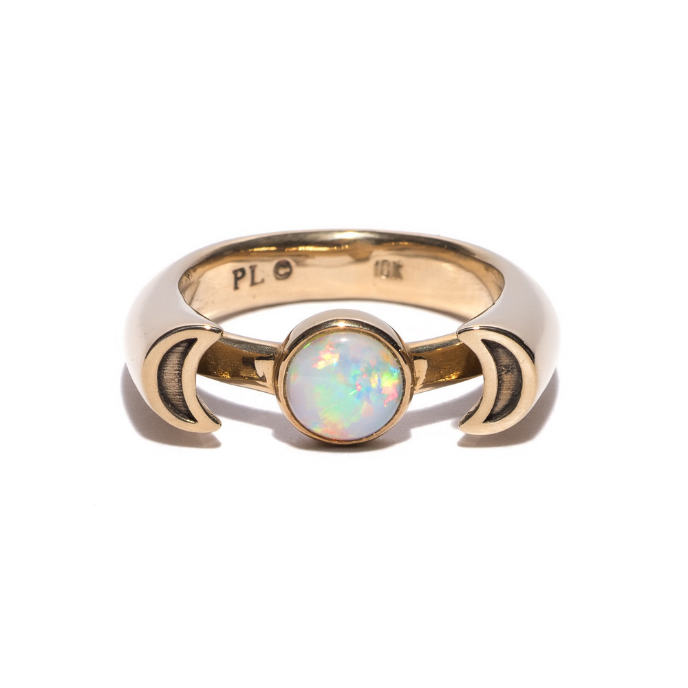 Gold with Opal, $1,360