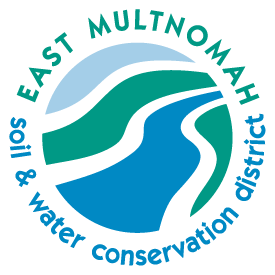 The East Multnomah Soil and Water Conservation District (EMSWCD) is a unit of local government serving Northwest Oregon's Multnomah County east of the Willamette River.  All of their work is geared toward keeping water clean, conserving water and keeping soil healthy!