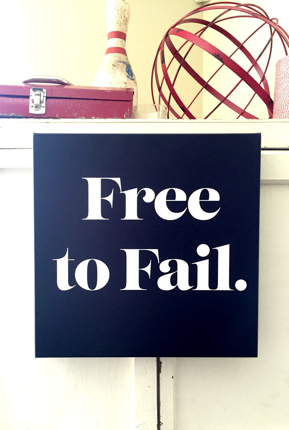 free to fail canvas - belong magazine blog