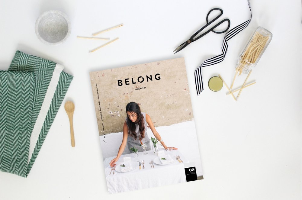 Belong Magazine ISSUE 05 Cover