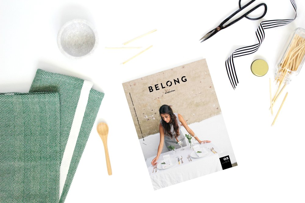 belong magazine issue 05 pre-order