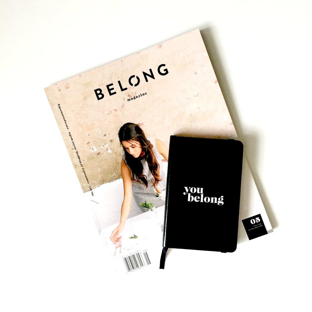 belong magazine / issue 05 / you belong notebook / belong magazine blog