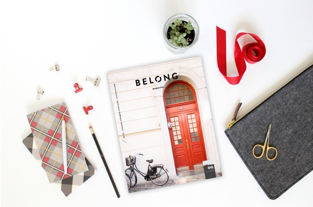 BELONG MAGAZINE ISSUE 06