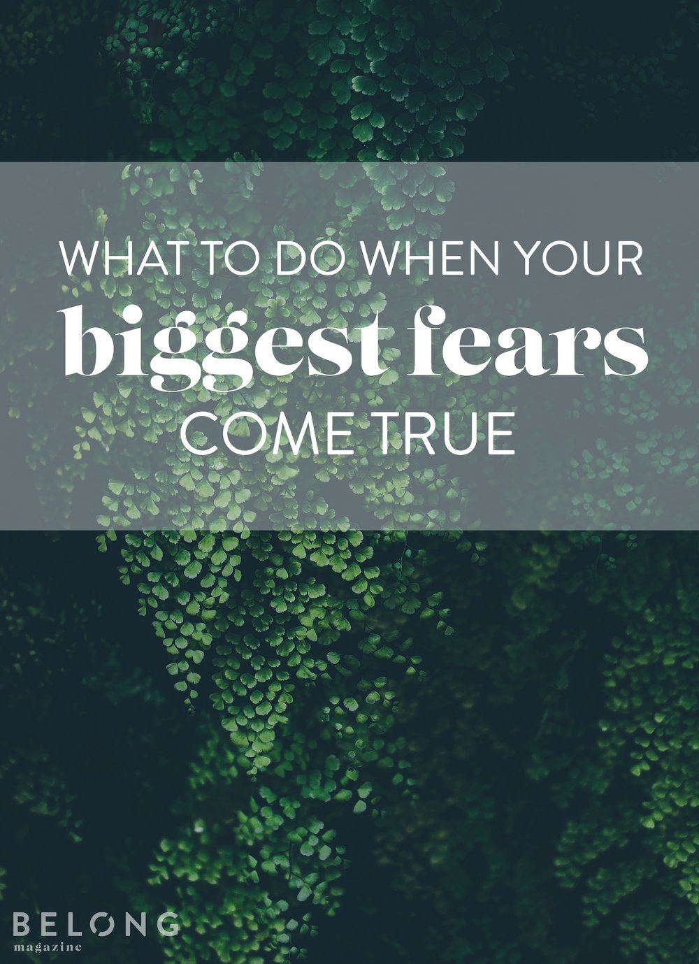 what to do when your biggest fears come true - ACE backpacks - belong magazine blog - female entrepreneurs, women in business