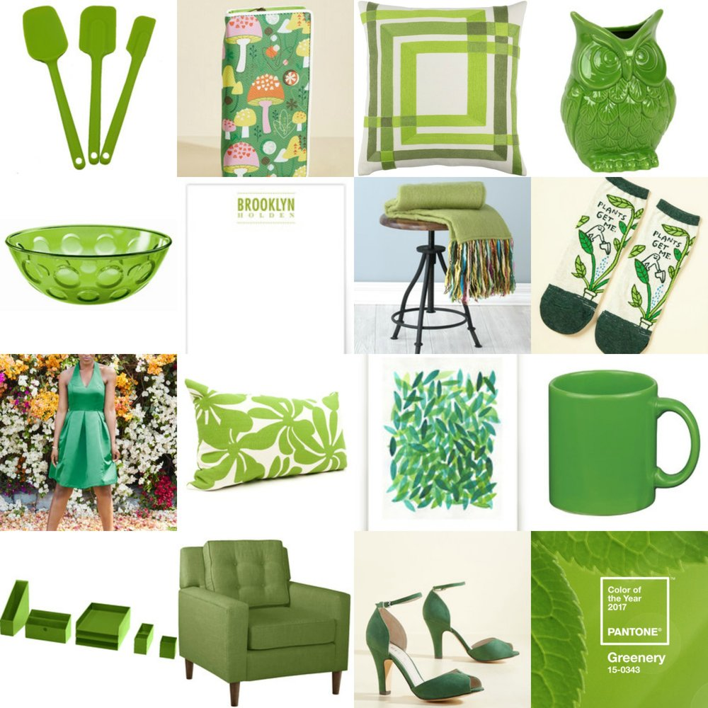 15 things you need in pantone color of the year 2017 greenery - belong magazine blog