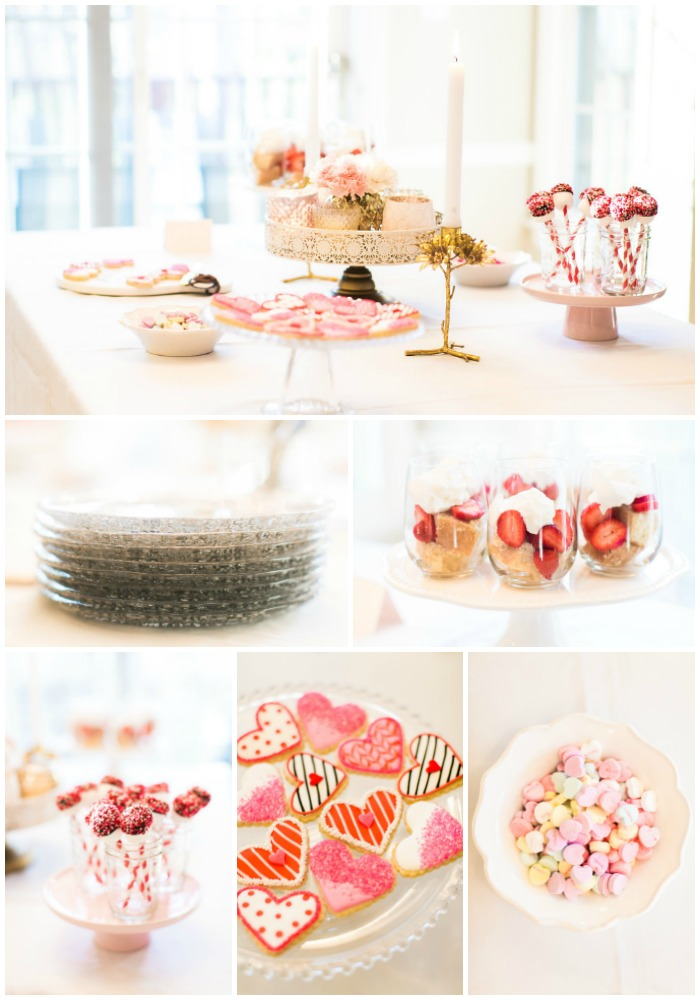 Galentine's Day with The Nook Girls - do Valentine's Day with your girlfriends using this gorgeous blush hued party as inspiration