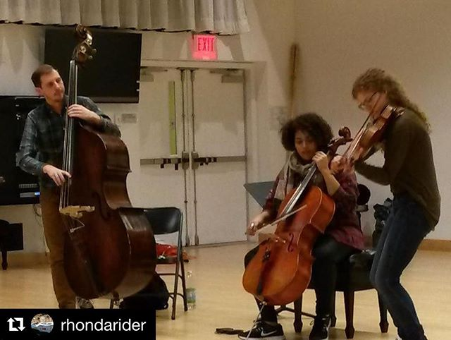 From Boston Conservatory String Seminar this past week