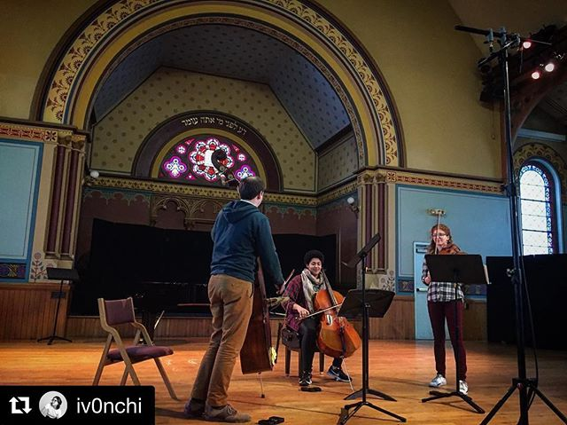 @iv0nchi snapped this pic of us this past weekend #womencomposersfestivalofhartford #humansofnewmusic