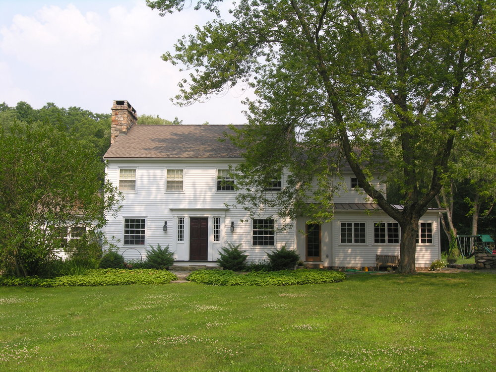 New Milford Residence- West Elevation.JPG