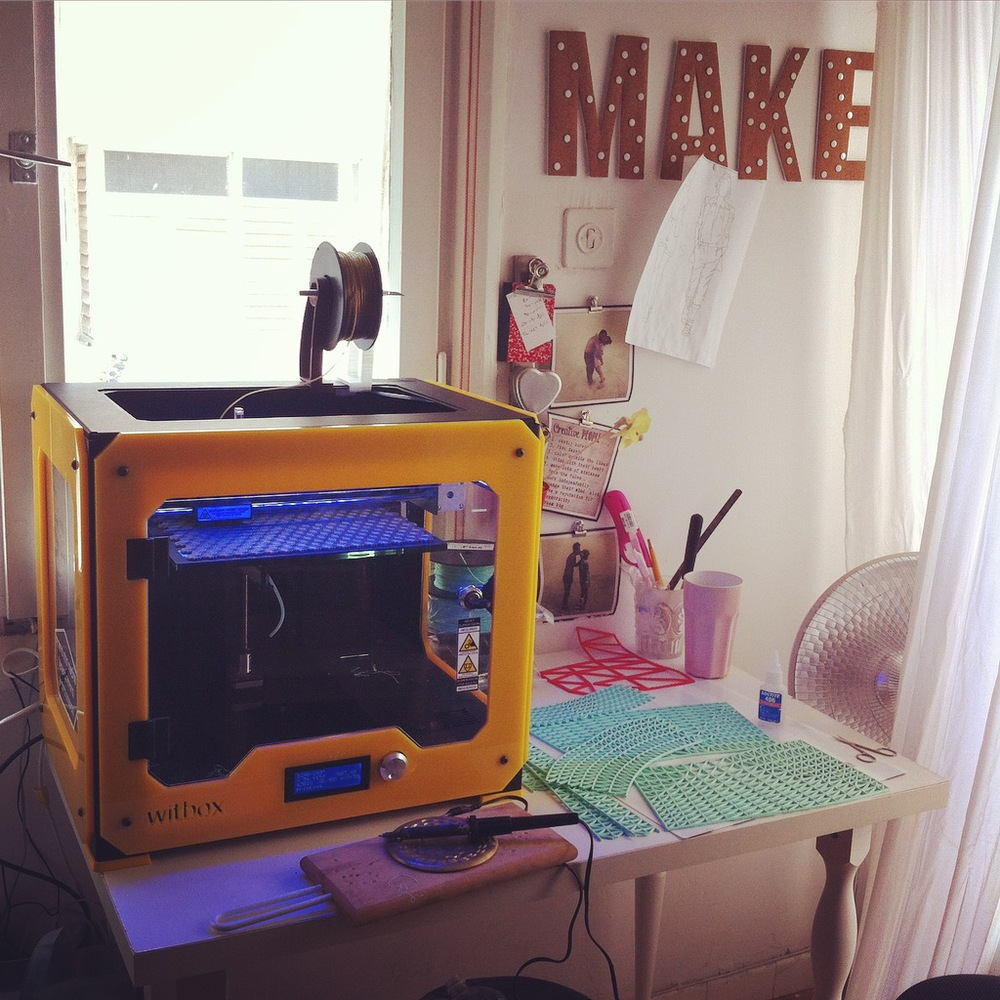 My experimentation desk
