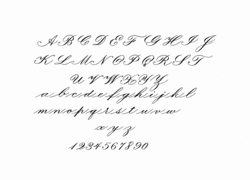 engrossers script copperplate online course 26 lessons