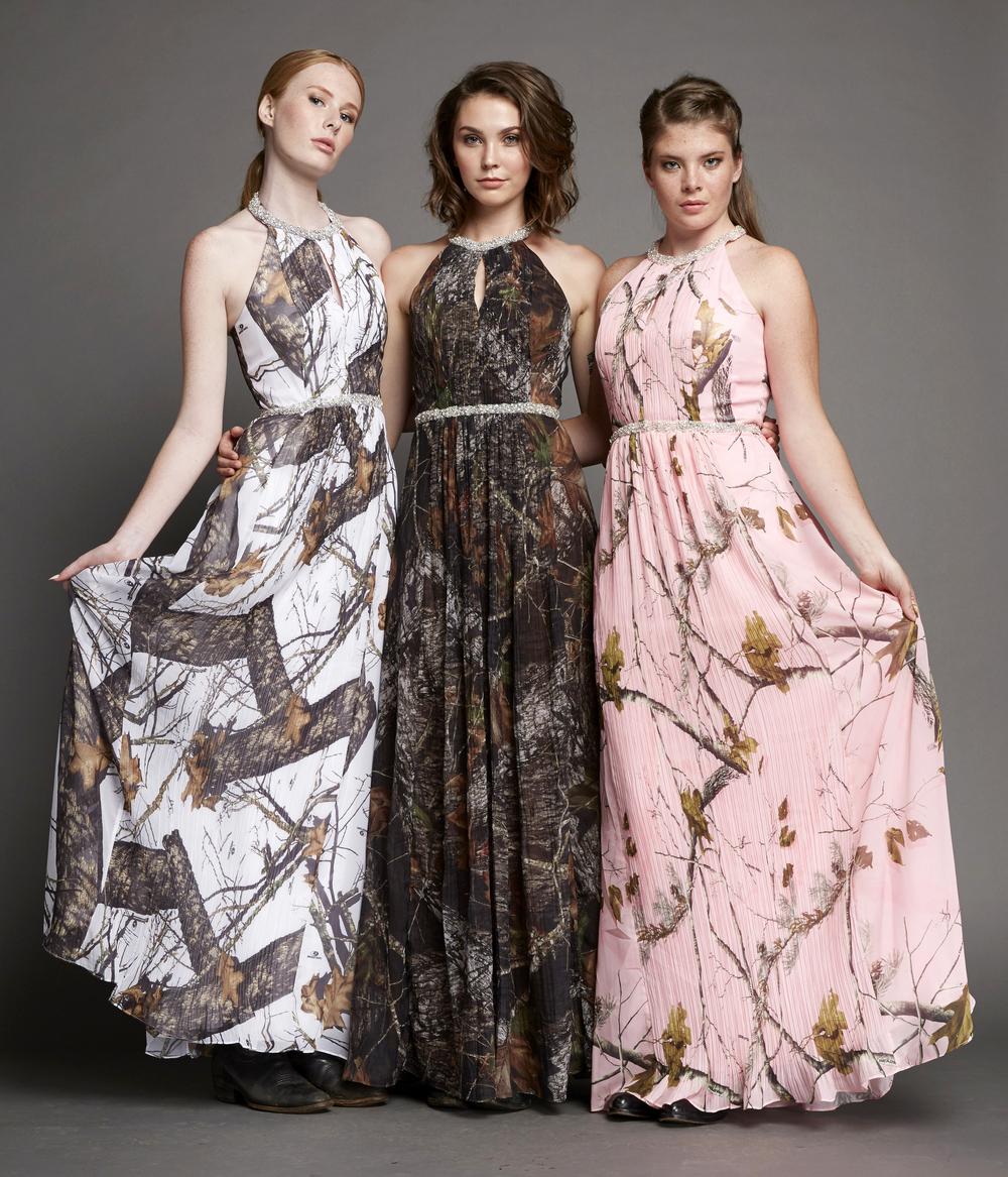 Carrafina Camo Dresses Have Arrived! — Stella\'s Bridal & Evening ...