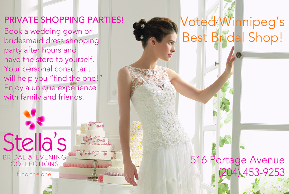 Stella\'s Bridal & Evening Collections: Winnipeg Wedding Gowns, Grad ...