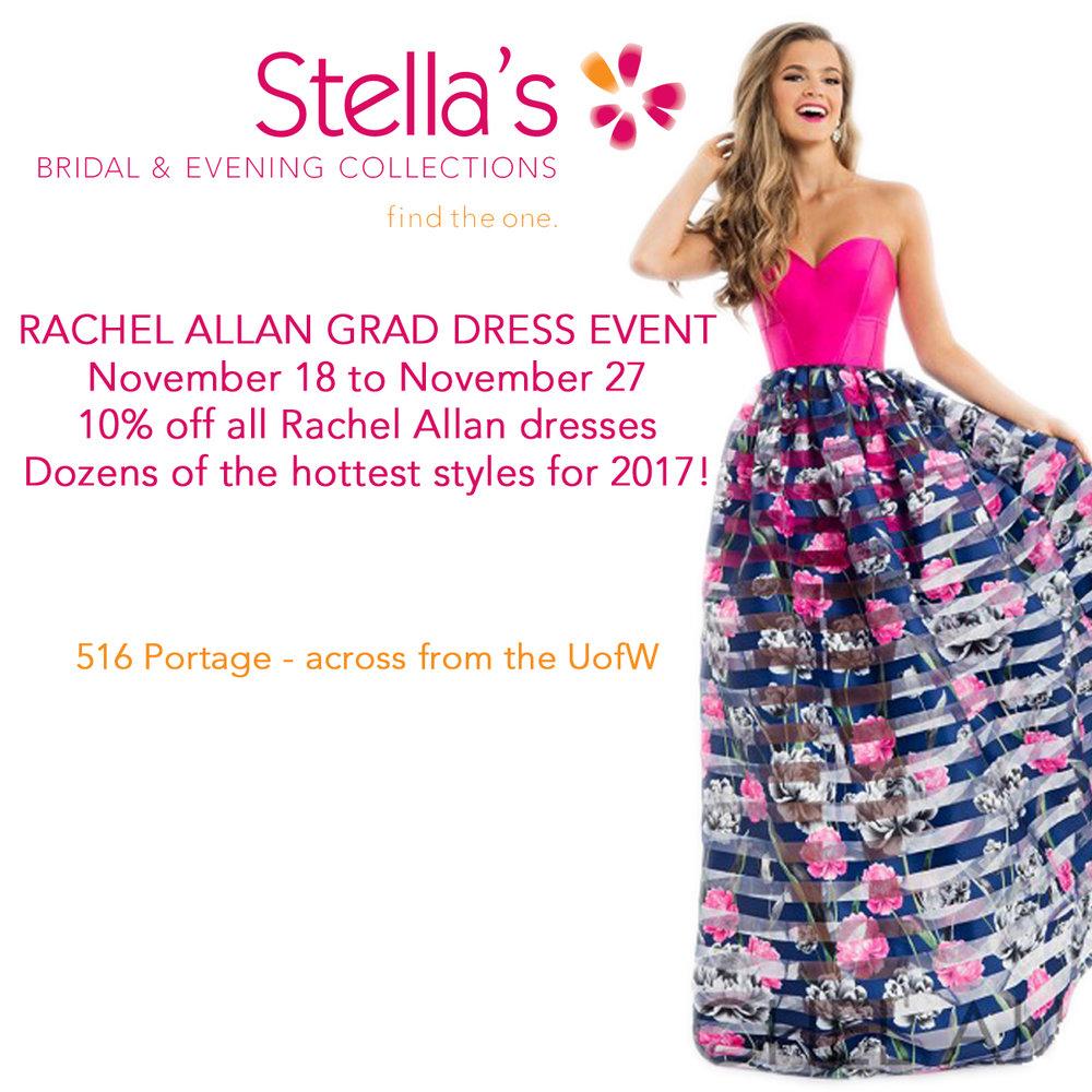 Rachel Allan Grad Dress Event