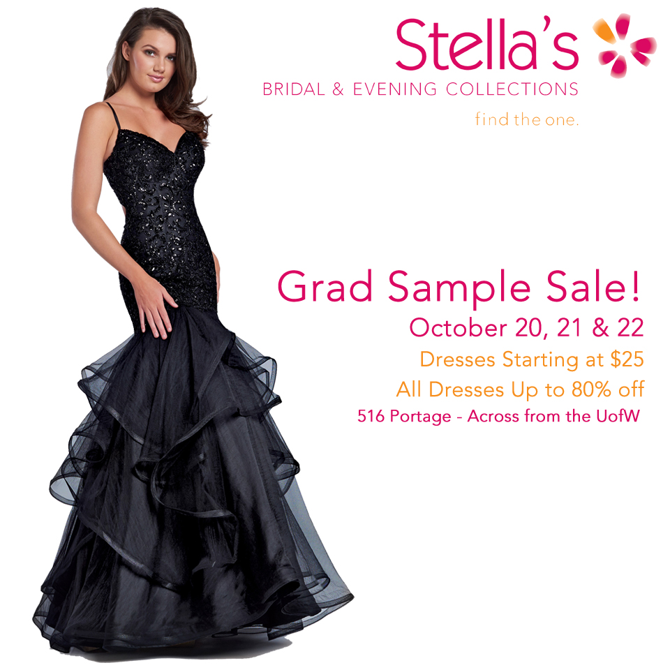 Winnipeg Grad Dress Sale
