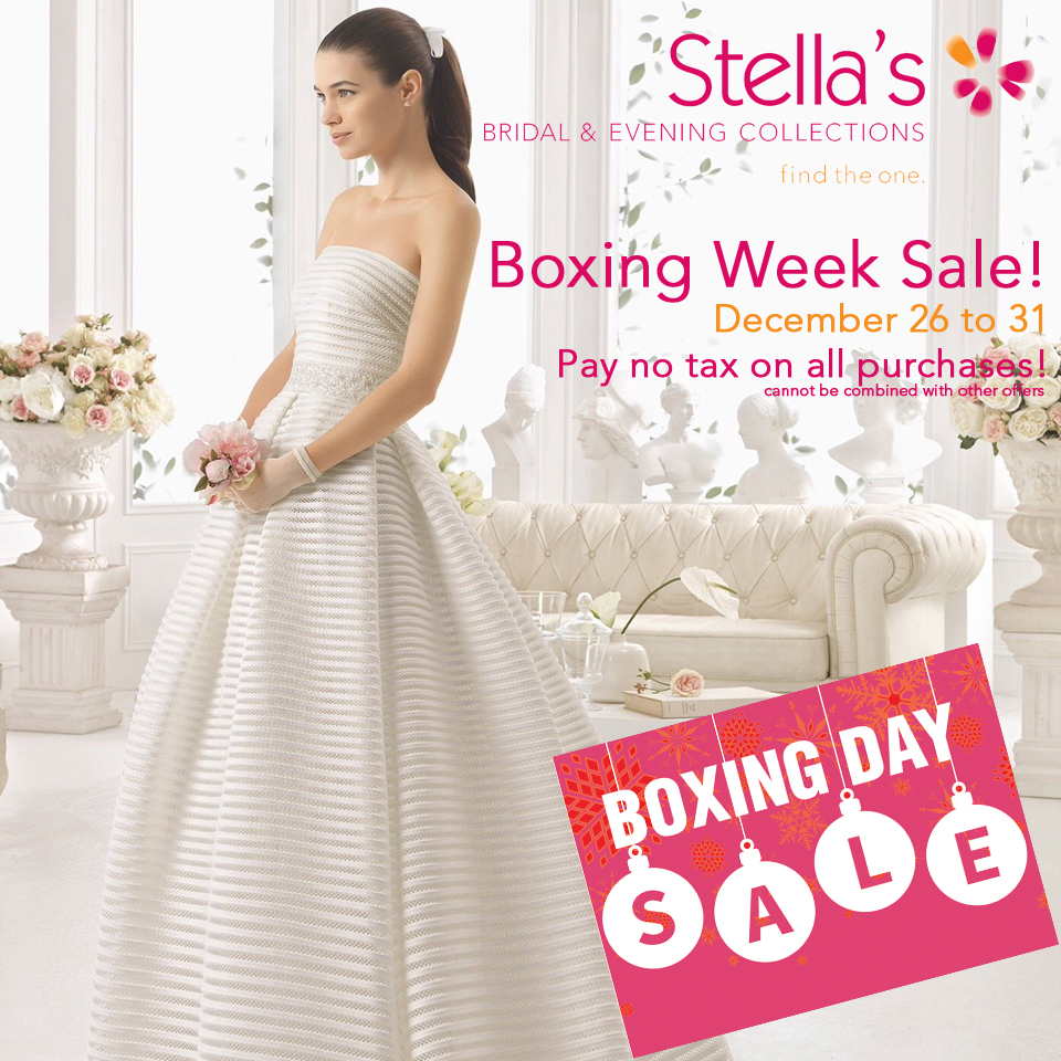 Boxing Day Sale - Wedding Dresses - Grad Dresses