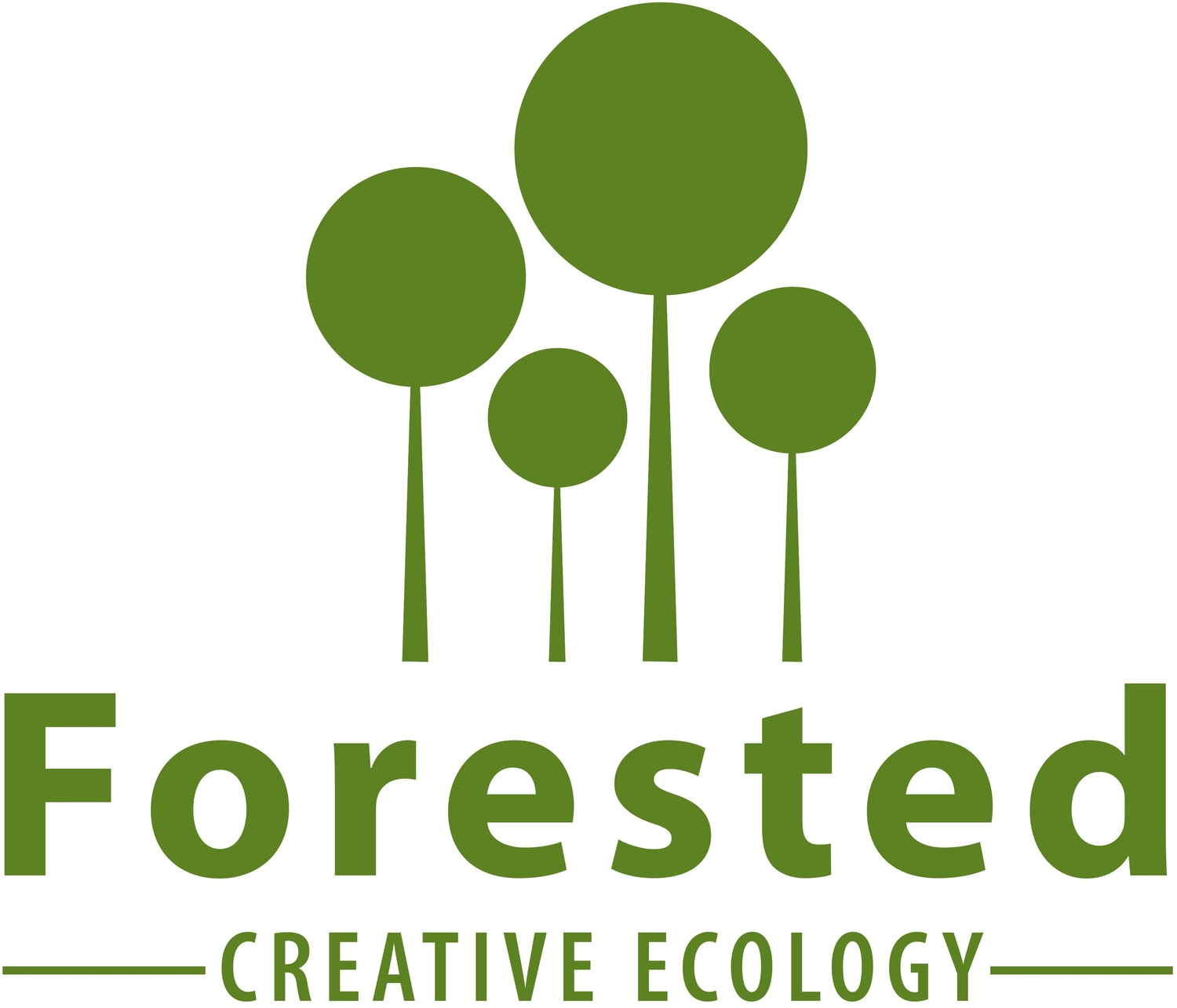 logo for Forested