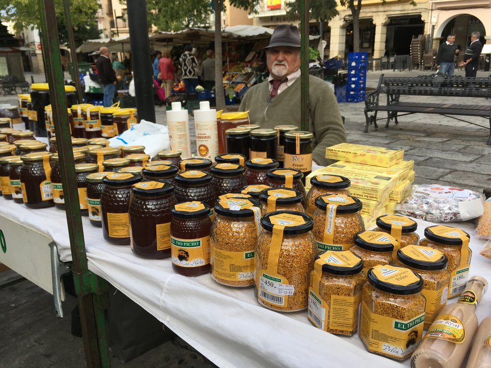 - Meet the local producers at the Plaza Mayor on market day in Plasencia.