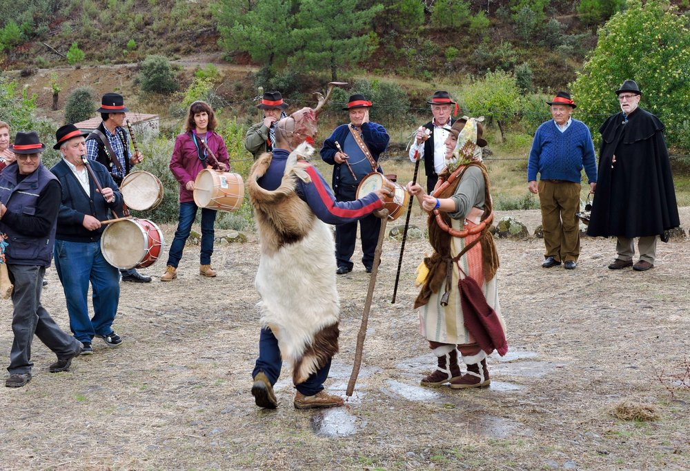 The celebration of Carvochá in Mesegal brings together drummers from all over the region.