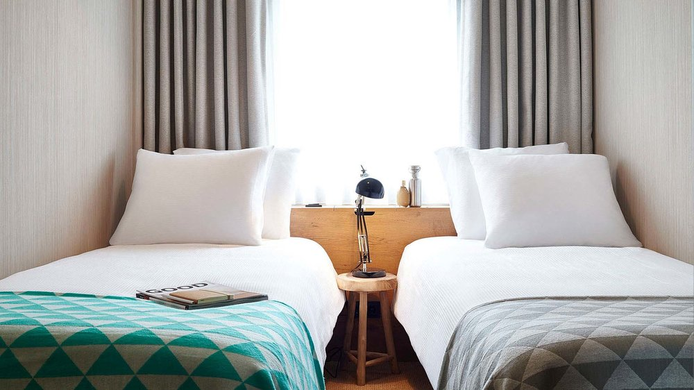 Good Hotel Amsterdam / London  || Interior Design, Rooms