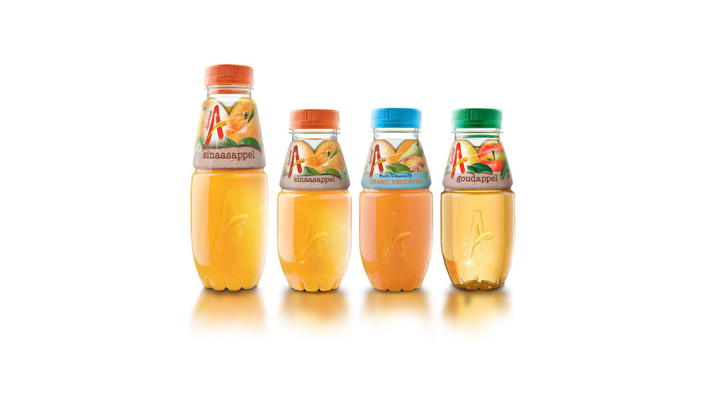 Appelsientje Juice Bottle Design