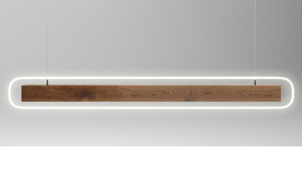 HALO pendant light, design by Sikko Valk