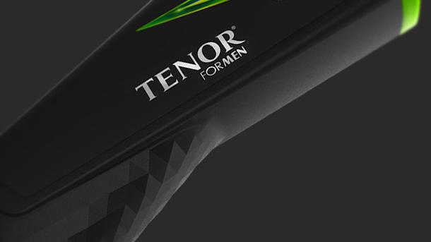Tenor for Men || Shower Gel Bottle Design