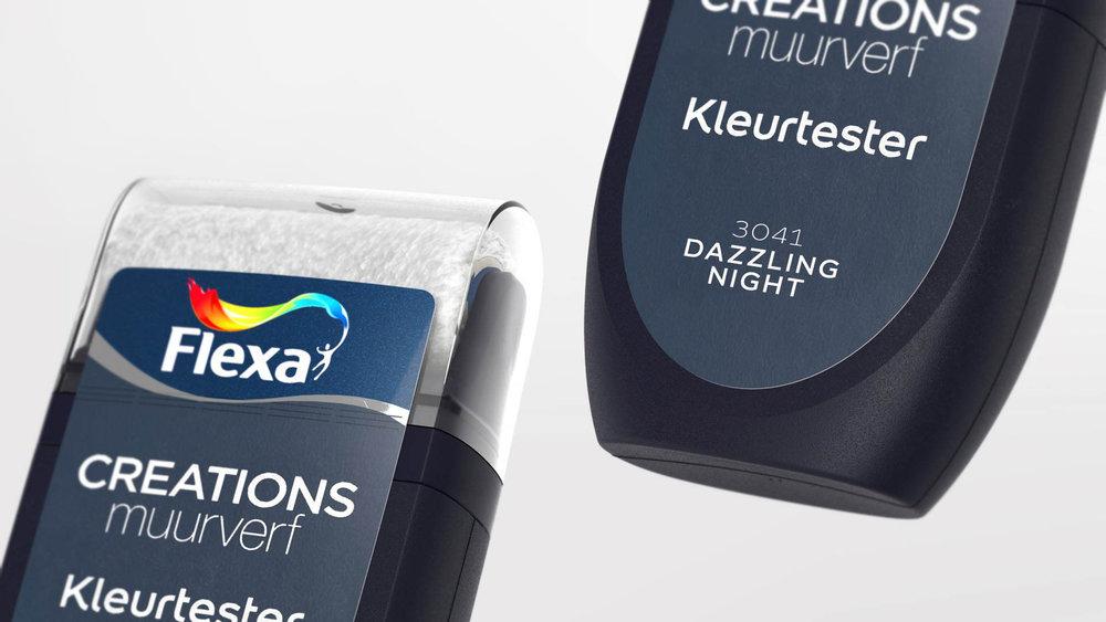 AkzoNobel / Dulux / Flexa || Paint Colour Tester Design