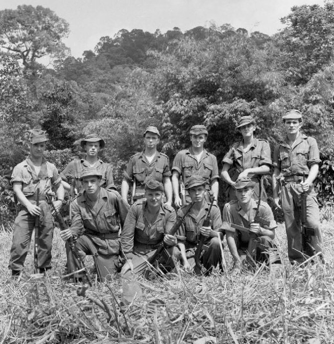 SAS were counter insurgency geniuses in Malaya
