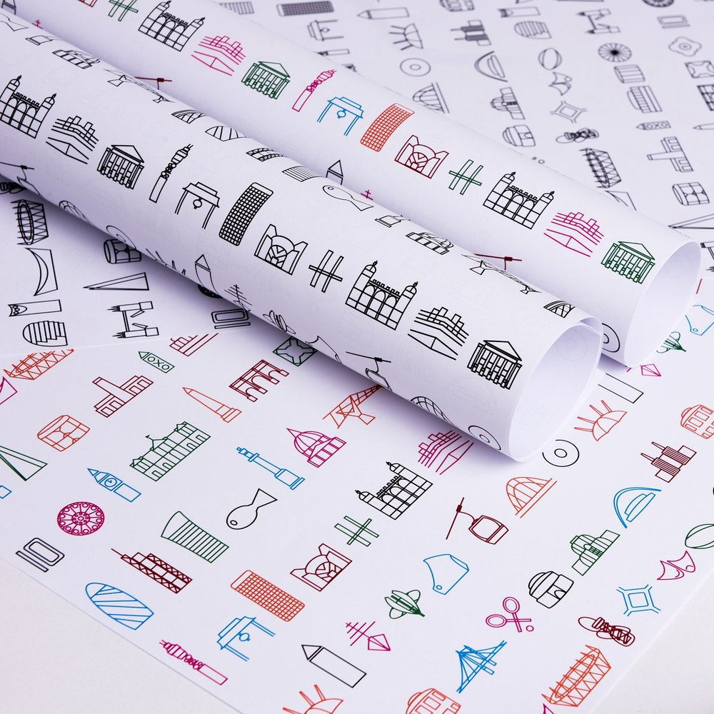 NEW LONDON ICON GIFT WRAP