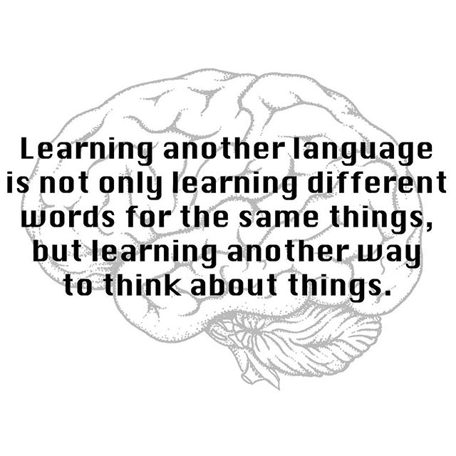 Flora Lewis has it right! What things have you or your kids learned from being bilingual?