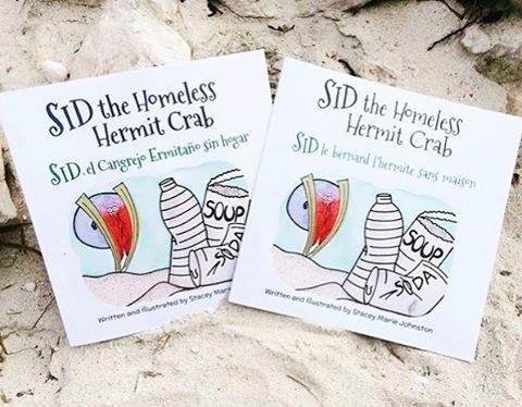 Is it beach weather where you are living yet? Sid the Homeless Hermit Crab thinks so!
