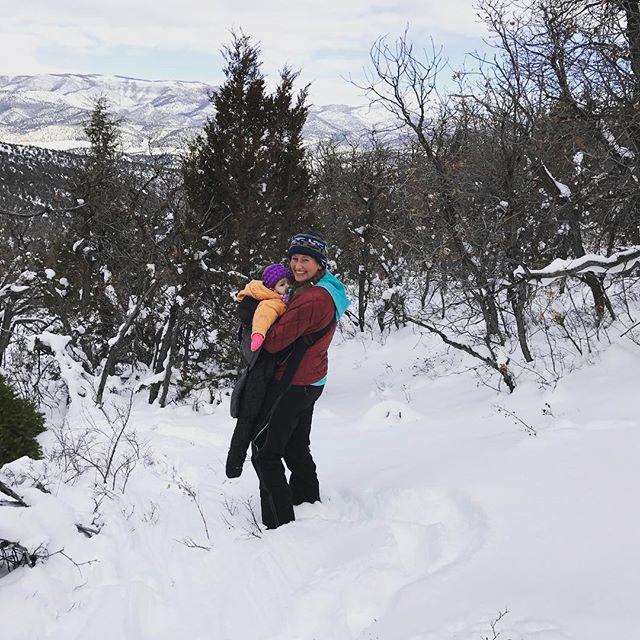 Some of you may know that around here, Kate is the heavy lifter. Carrying Clara up the steep mountain in deep snow while also offering to carry the tree down the mountain is the kind of Momma and wife she is. #mothersday