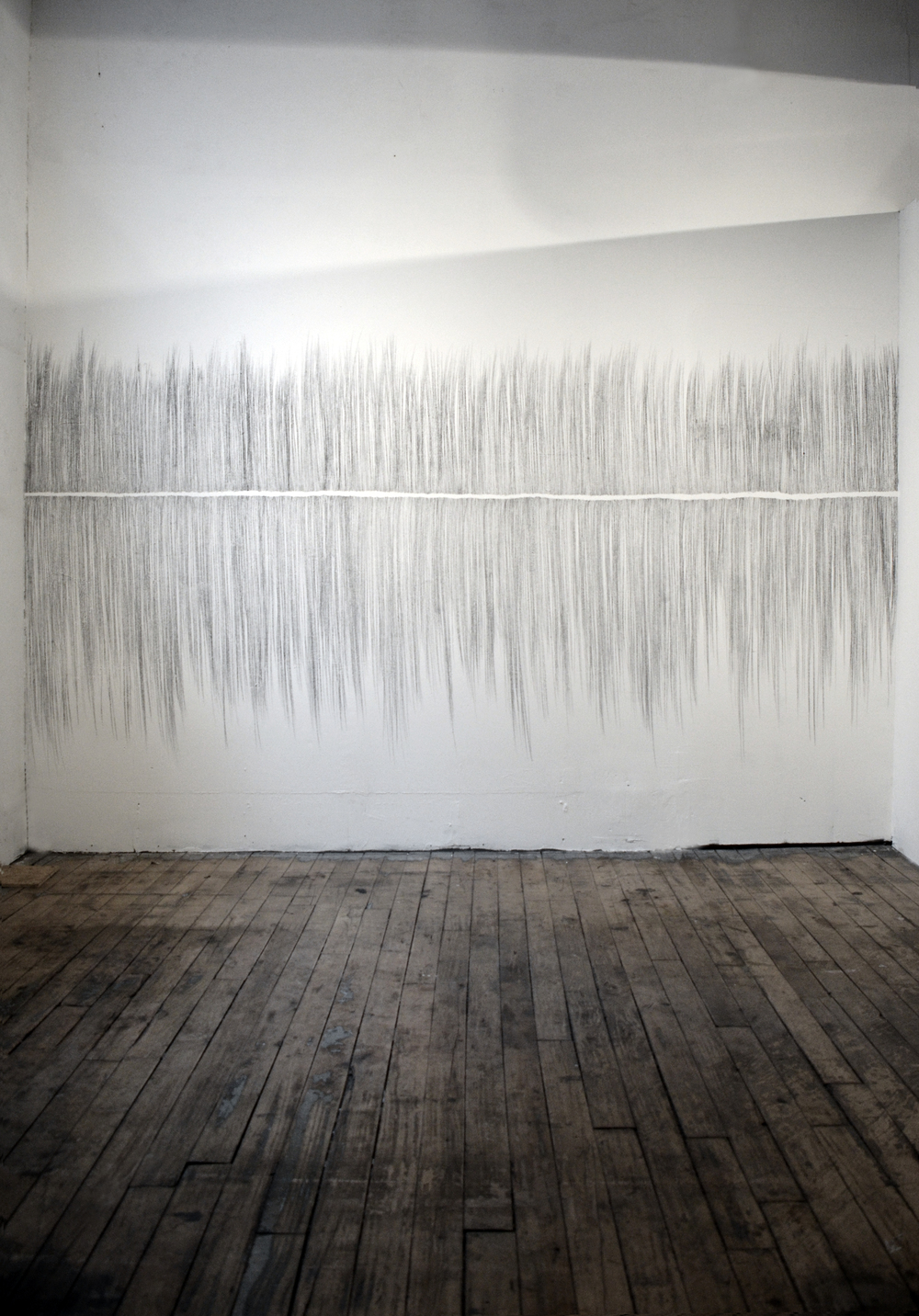 Culminate (installation), 2015, drawing