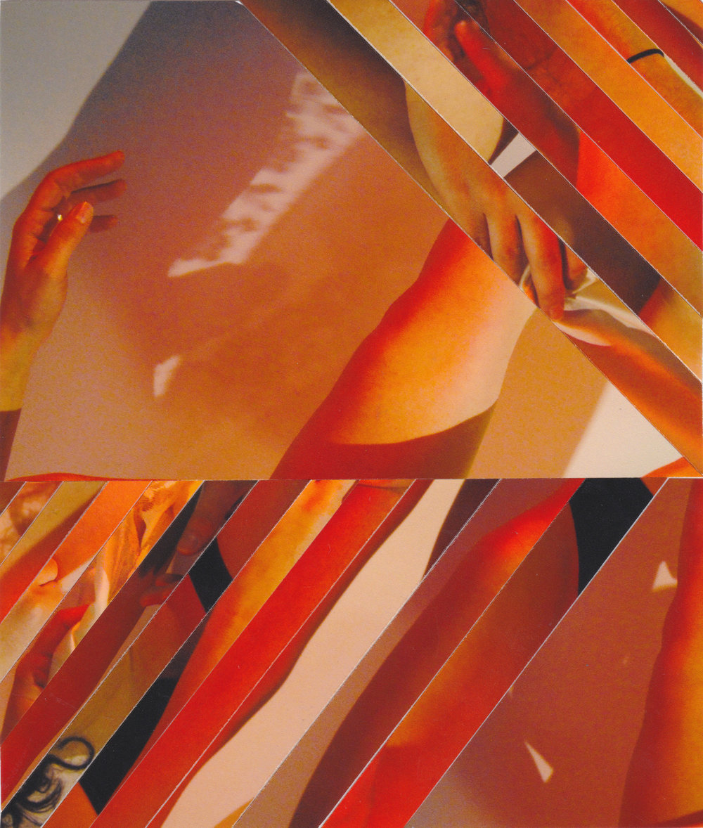 Sublimation 3: Orange is the color of attraction, 2018, collage