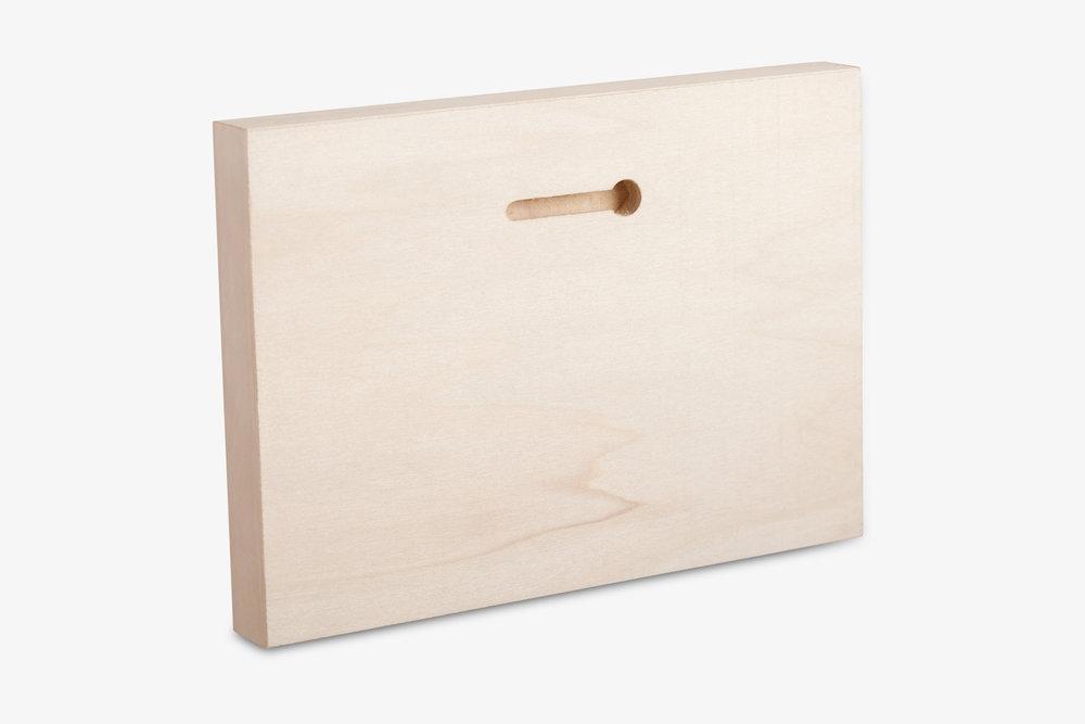 Direct To Wood Photo Print Keyhole Display